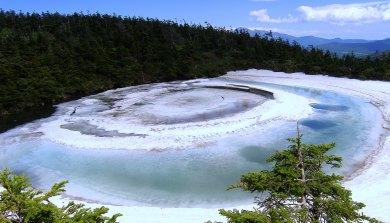 Icy pool, Hachimantai