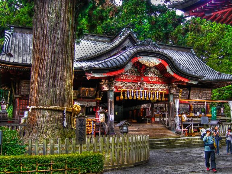 sengen shrine fuji yoshida