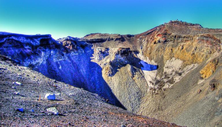 fuji crater
