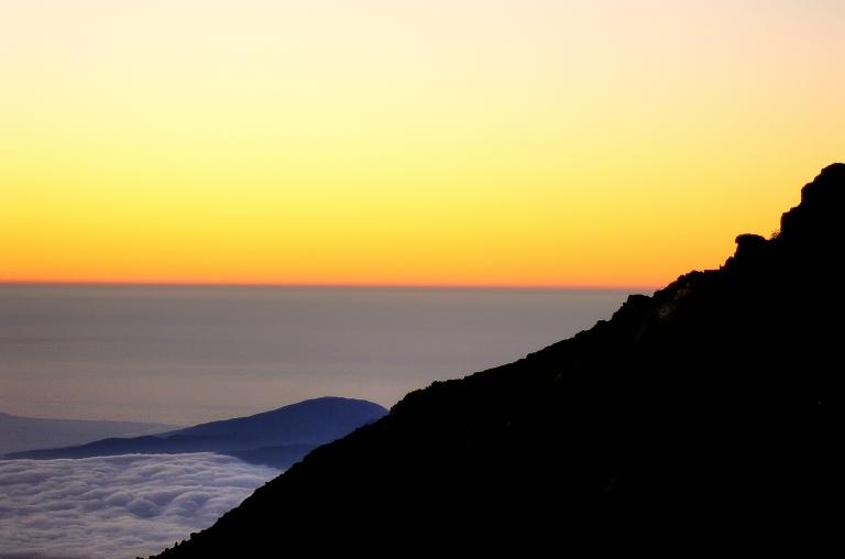 dawn on mount fuji